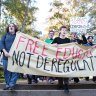 Students push to increase share of student fees