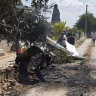 Helicopter and light plane crash in mid-air in Mallorca, Spain