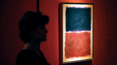 One of the fake Rothko paintings in the documentary <i>Made you Look: A True Story About Fake Art</i>.