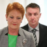 James Ashby banned from Parliament House, Brian Burston admits to smearing blood on door
