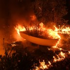 The Hillville fire in NSW is one of several huge blazes still burning in what is already a record-breaking fire season.