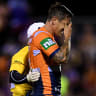 Knights halfback Pearce holds out hope to be back before the finals