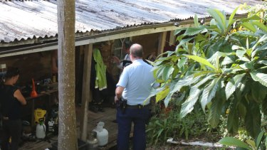 Detectives searched a home on Scotland Island and seized a number of electronic devices.