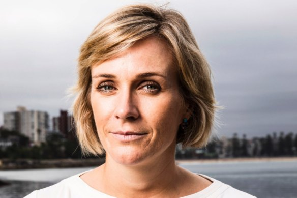 Zali Steggall is on track to win the seat of Warringah, according to a GetUp poll.