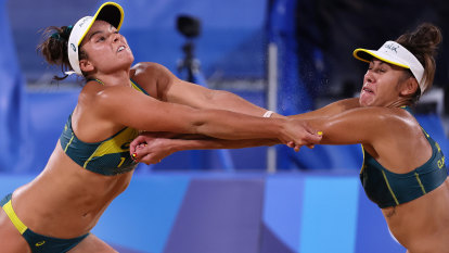 Australia's beach volleyball team full of confidence after knocking off world champions