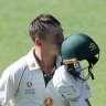 Australia leave door open for brave India despite Labuschagne's ton
