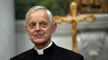 Cardinal Donald Wuerl, archbishop of Washington, in 2015.