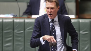 An energised Christian Porter went on the attack on Wednesday.