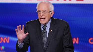 Vermont Senator Bernie Sanders criticised Biden's decision to launch air strikes on Syria.