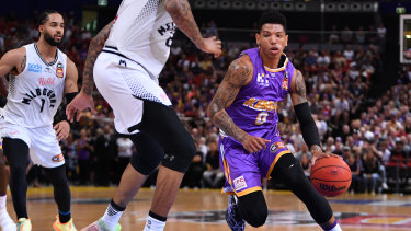 Didi Louzada for the Sydney Kings ... Paul Smith's kind of player.