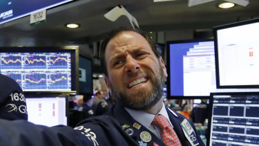 There's anguish on Wall St as the rout continues.