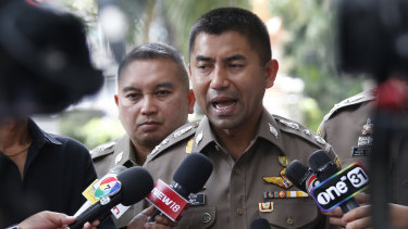 """Thai Immigration Police chief Surachate Hakparn said the order to keep Araibi in detention came from """"above"""" in the Ministry of Foreign Affairs."""