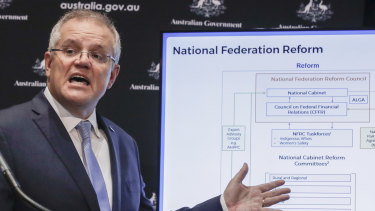 Prime Minister Scott Morrison is replacing the Council of Australian Governments with the national cabinet process.