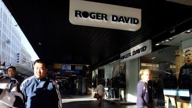 Roger David has collapsed.