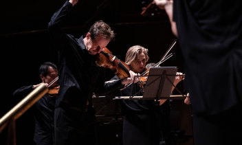 On the move: the Australian Chamber Orchestra.