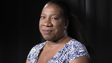 Founder of the #MeToo movement, American Tarana Burke.