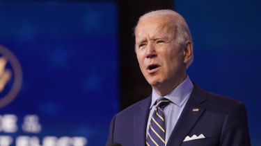 President-elect Joe Biden says his transition team is being blocked by Donald Trump's administration.