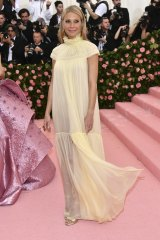 From minimalist to modest ... Gwyneth Paltrow at this year's Met Gala.