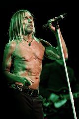 Iggy Pop invited his audience onstage for his birthday gig.