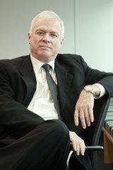 The NSW electoral commissioner John Schmidt.