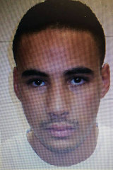 This undated handout photo provided by the French police, shows Cherif Chekatt, the suspect in the shooting in Strasbourg, France.
