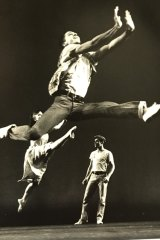 Joey McKneely in an early production of West Side Story.