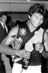 Richmond's Maurice Rioli after the win.