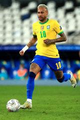 Brazil forward Neymar.