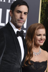 Sacha Baron-Cohen and wife Isla Fisher are calling Sydney home.