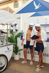 Launch of the Grey Goose Riviera pop-up at The Bucket List on Tuesday night.