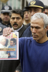 Mehmet Ali Agca, being released from prison in Istanbul in 2006. Agca served more than 25 years in prison in Italy and Turkey for shooting the Pope and killing a Turkish journalist