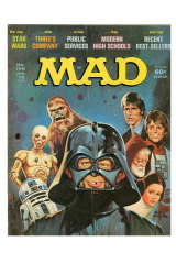 May the farce be with you ... Star Wars is transformed into Star Roars by Mad Magazine in 1978.