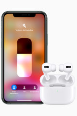 You can switch between noise cancelling, passive and 'transparency' modes with a swipe on your iPhone or a squeeze of the AirPods.