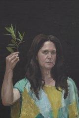 Jordan Richardson's portrait of journalist Annabel Crabb.