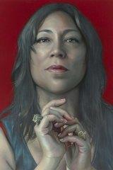 Packing Room Prize winner Kathrin Longhurst's portrait of Kate Ceberano.