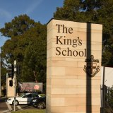 At The King's School in Parramatta, 41 per cent of students speak a language other than English at home.