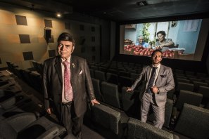 Roy and Sam Mustaca, owners and operators of the United Cinemas chain.