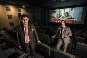 Roy and Sam Mustaca, owners and operators of United Cinemas.