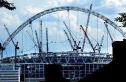 Nicholas Trahair was a consultant on the design of the new Wembley Stadium.