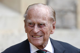 Prince Philip at his last public appearance in July 2020.