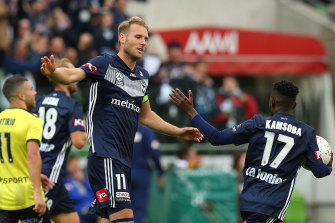 Ola Toivonen gave Victory a share of the points with his second-half goal on Sunday.