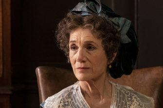 Harriet Walter plays the Countess Brockenhurst in Julian Fellowes' Belgravia