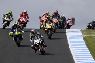 The MotoGP at Phillip Island has now been cancelled twice.