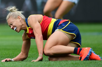 Erin Phillips is aiming to be back in round one of the 2020 AFLW season.