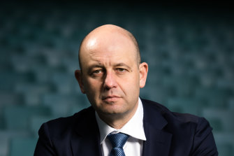 Todd Greenberg resigned in April last year after four years at the helm of the NRL.