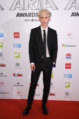Troye Sivan at the 2018 ARIA Awards.