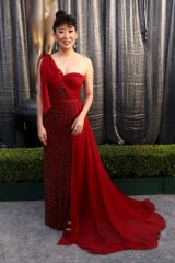 Red letter year ... Sandra Oh at the Screen Actors Guild awards.