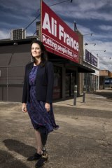 Labor candidate for Dickson, Ali France, who lost her leg in an accident in 2011.