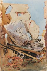 Like many artists, Arthur Streeton was inspired by ruins.