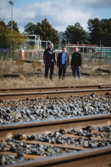 The Capital Recycling Solutions project planned to use the railway to export recyclables.